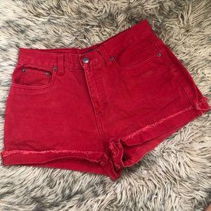 Vintage Bill Blass High-Waisted Shorts